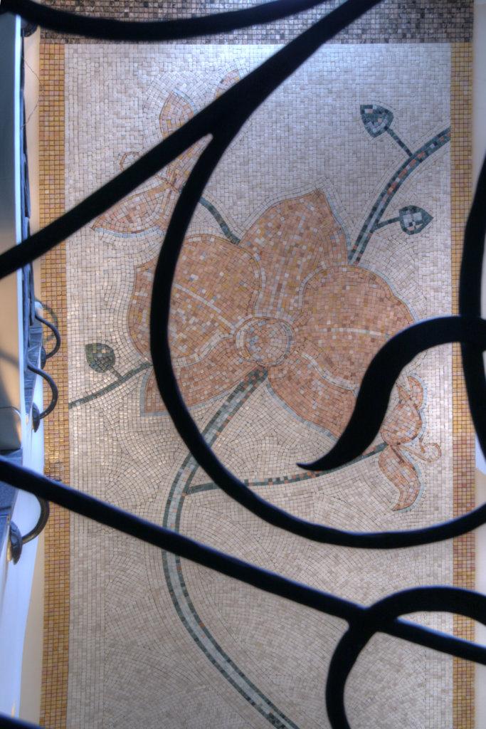 Mozaika we wnętrzach