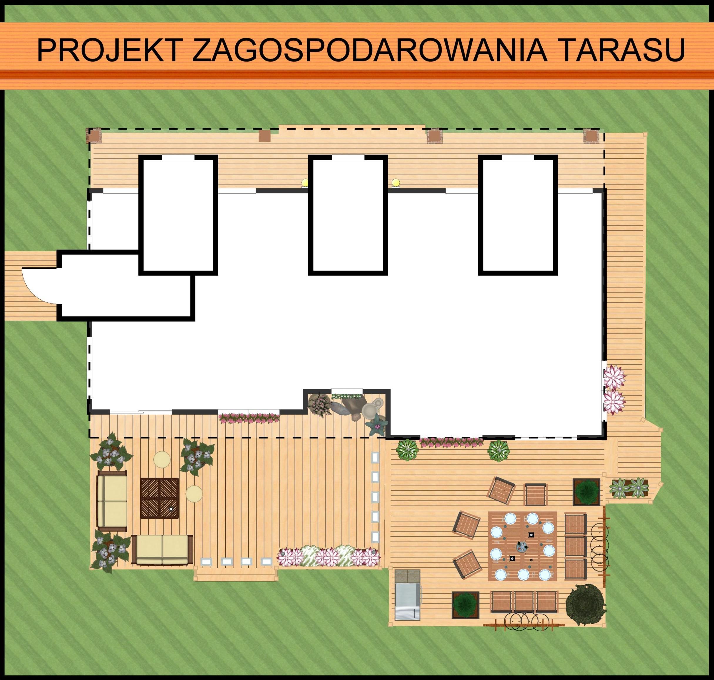 Taras - między domem a ogrodem