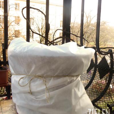 Listopad w ogrodzie - okrywanie roślin na zimę.