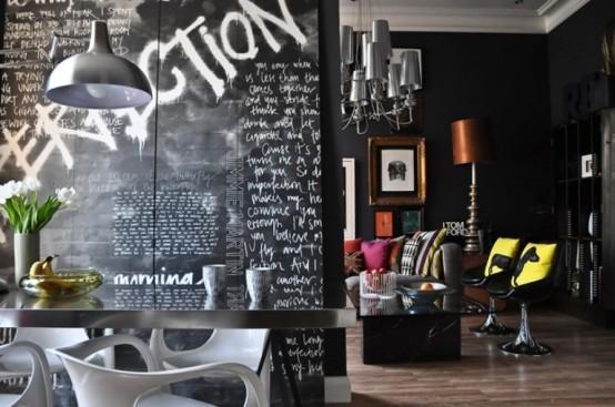 Wnętrze Art-Deco i Pop-Art