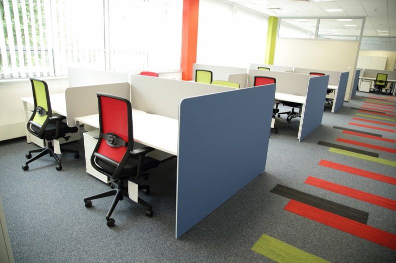 Biuro korporacji z branży poligraficznej
