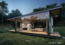 Coffee House StudioA&W domy nowoczesne