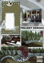 Ogród z altaną