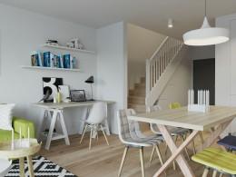 Projekt wnętrza mieszkania w nowoczesnym stylu