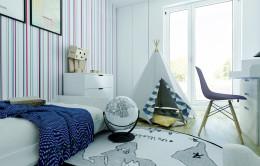 Projekt pokoju dziecięcego w skandynawskim stylu