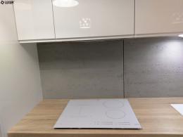 Beton architektoniczny jako okładzina w kuchni
