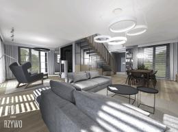 Wnętrze nowoczesnego domu