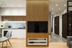 nowoczesne proste mieszkanie