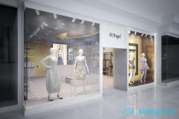Projekt wnętrz sklepu