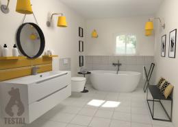 Łazienka na 3 sposoby