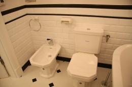 Art Deco- łazienka w krakowskiej kamienicy