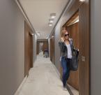 klatki schodowe w apartamentowcu