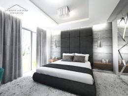 Sypialnia domku w Lubinie