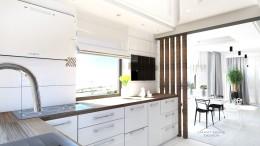Kuchnia domku w Lubinie