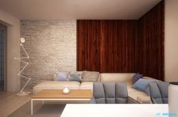 Projekt wnętrz domu jednorodzinnego w Zabrzu
