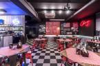 Realizacja projektu wnętrz restauracji :