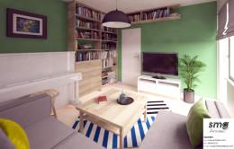 Wnętrze mieszkania Szczecin Gumieńce