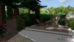 Projekt ogrodu środziemnomorskiego Rybnik