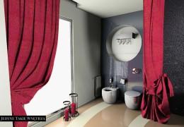 Buduarowy pokój kąpielowy