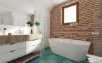 dom pod Warszawą_łazienki