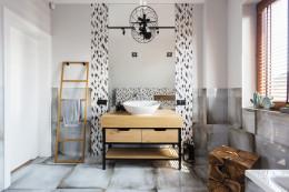 Łazienki w stylu skandynawskim