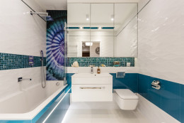 Łazienka z muszlą
