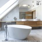 Realizacja projektu wnętrz salonu kąpielowego