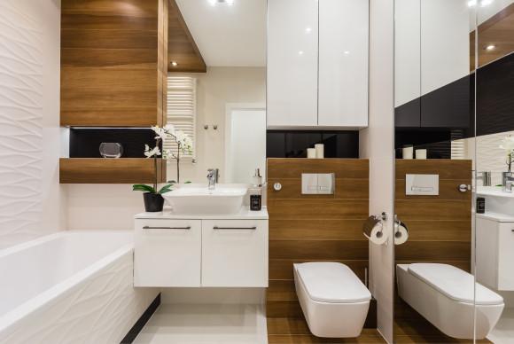 Drewno W łazience Studio Architetto E Aranżacjepl