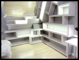 Biblioteczka Cellaio na poddaszu