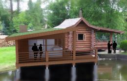 Dobudowa pomieszczenia rekreacyjnego do sauny