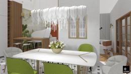 kuchnia studio/salon/jadalnia
