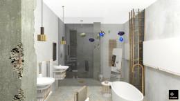 łazienka loft