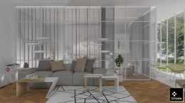 szklany apartament