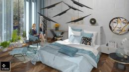 włoska sypialnia