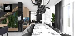 Architektura wnętrz nowoczesnego domu