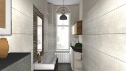 Projekt mebli łazienkowych