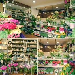 Kwiaciarnia w stylu rustykalnym