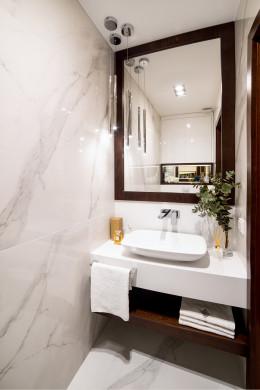 Toaleta w marmurach