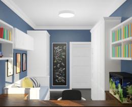 Pokój dla nastolatka - w stylu klasycznym