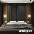 Ciemne kolory w aranżacji sypialni. FULL STEAM AHEAD!