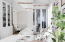 Skandynawska biel w sypialni