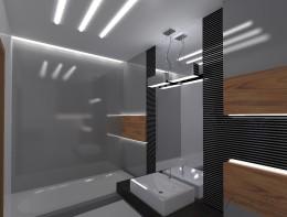 łazienka grafit