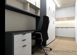 Projekt wnętrza biura