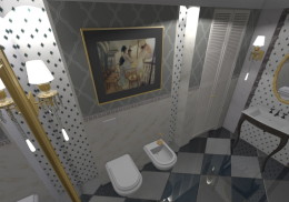 Gabinetowa łazienka