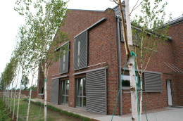 Dom w Poznaniu - architektura