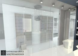 Łazienka inspirowana Kryształem