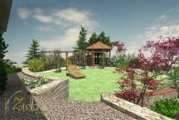 Ogród na Osiedlu Pod Lipami