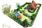 Ogród w Mierzynie