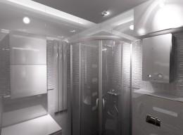 Słomniki - Łazienka w bieli