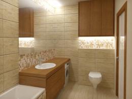 karmelowa łazienka